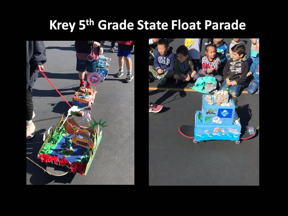 Krey 5th grade State Float Parade