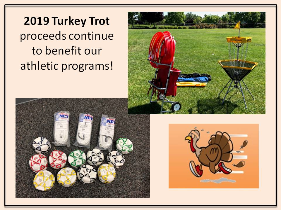 Turkey Trot Proceeds benefit athletic programs