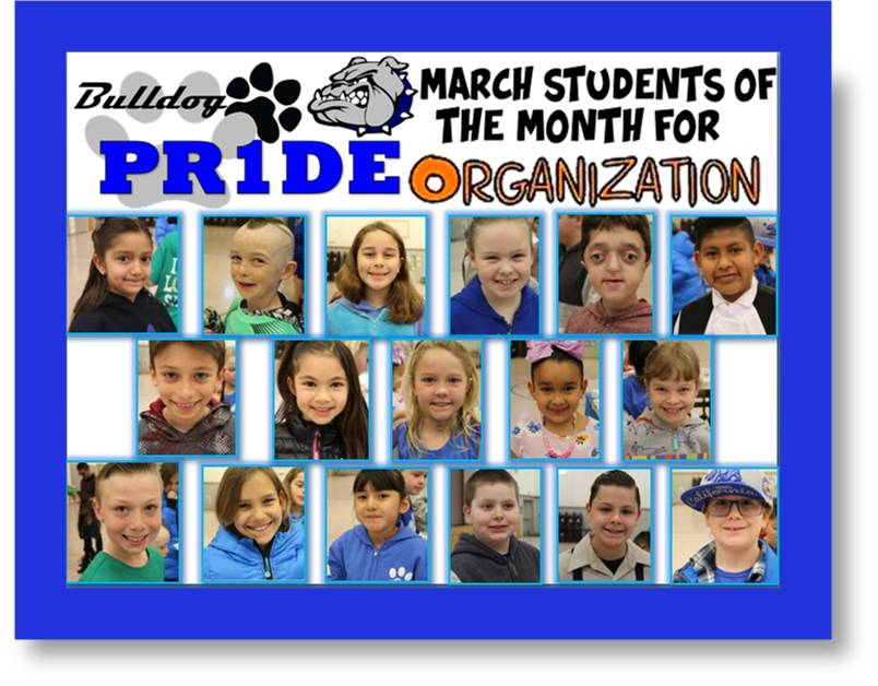 BW March Students of the Month