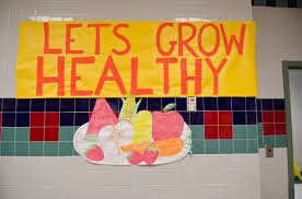 Let's Grow Healthy poster