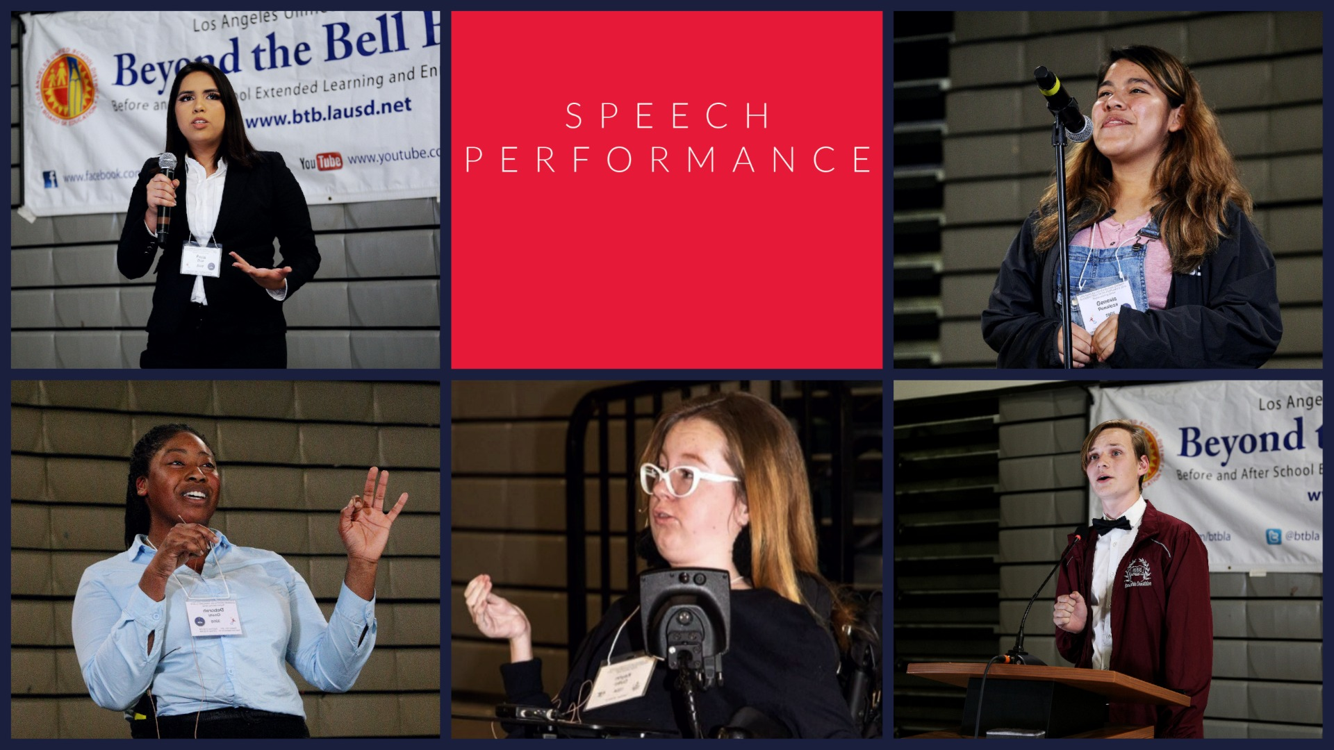 Speech Performance Picture
