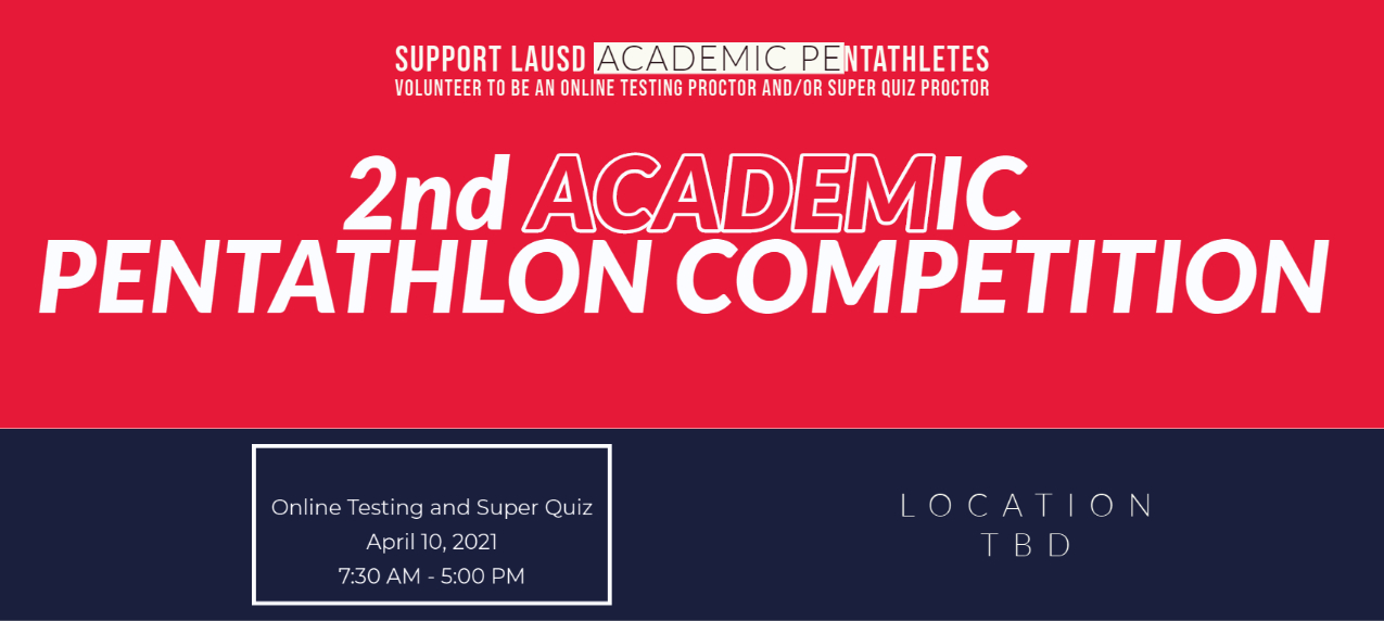 2nd Academic Pentathlon Competition
