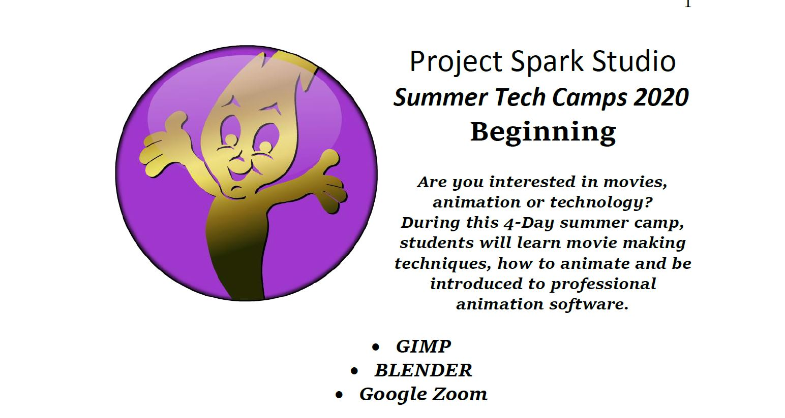 Beginning Tech Camp