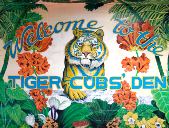 Welcome to the Tiger Cubs' Den