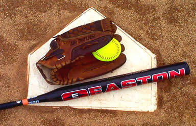softball_bat_glove_ball_homeplate
