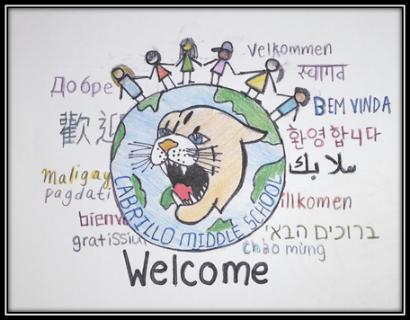 Multicultural Welcome Drawing