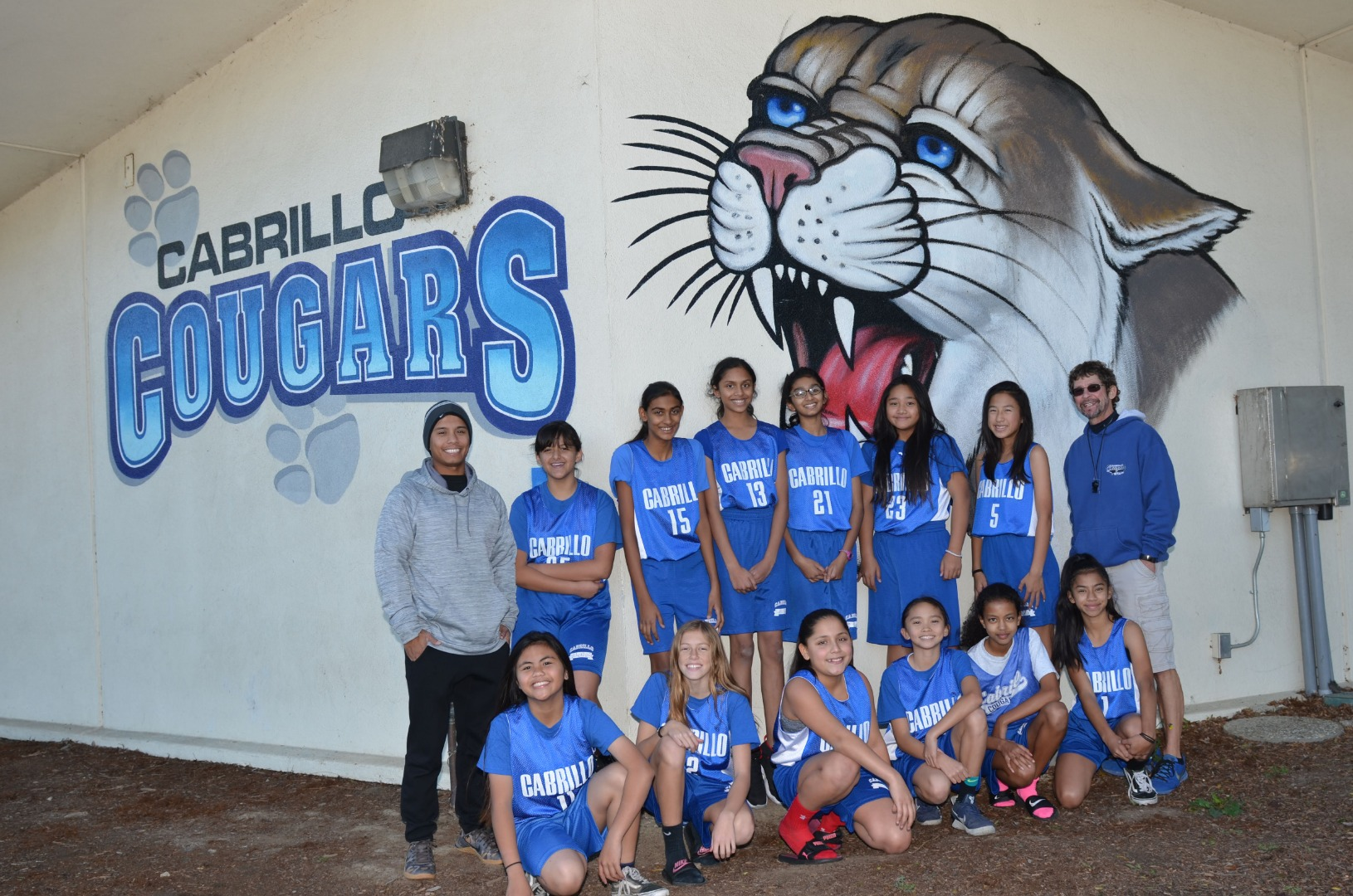 6th and 7th Grade Girls Basketball Team