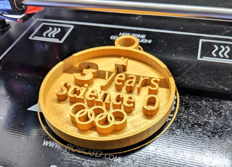 3d printer making awards