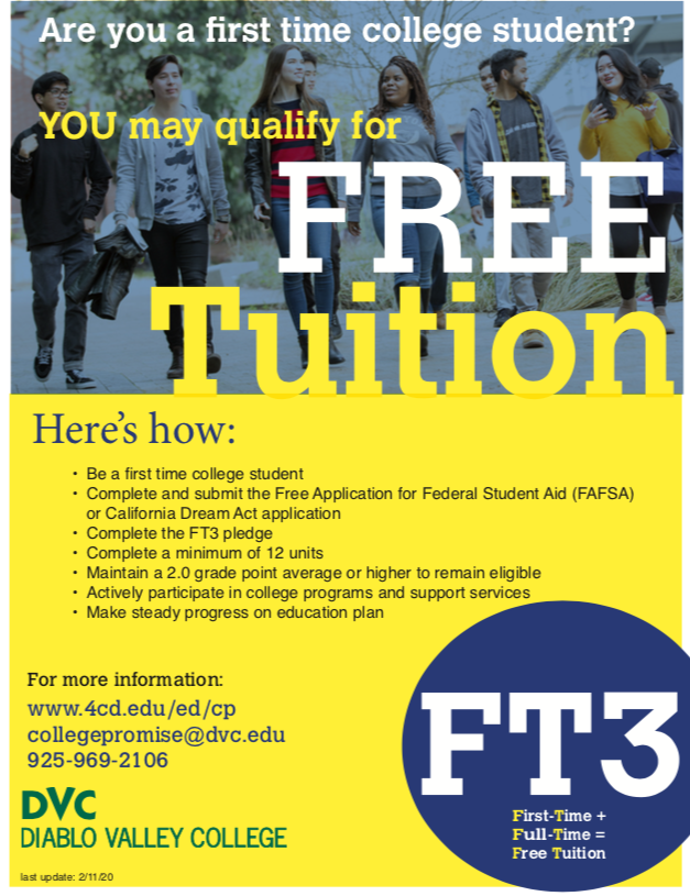 Free Tuition flyer
