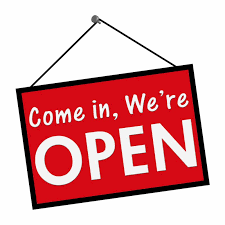 We're Open Picture
