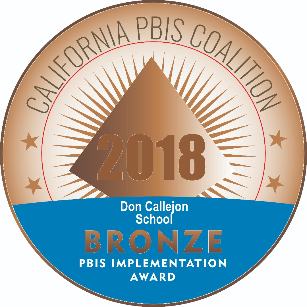Bronze medal for PBIS