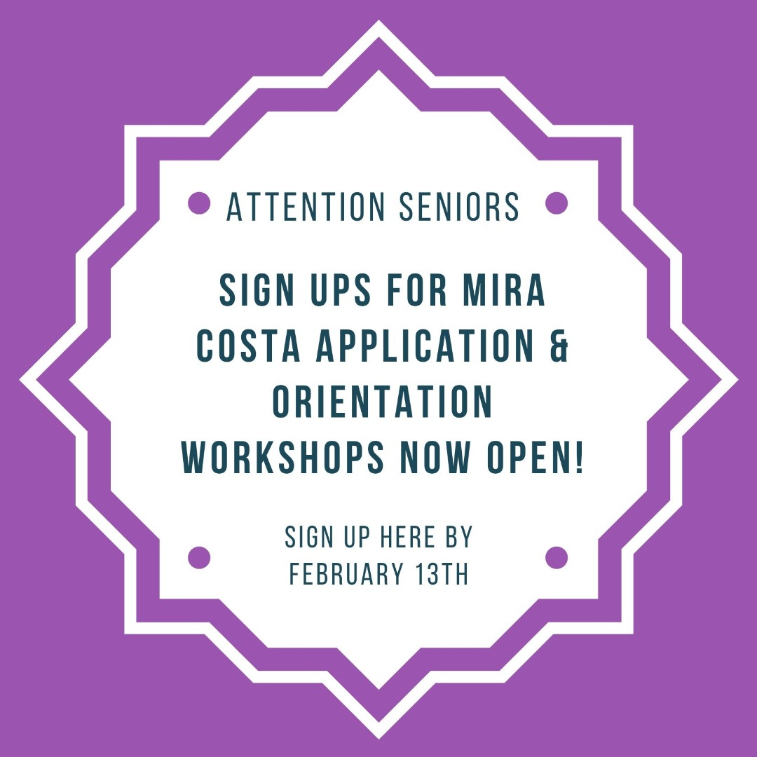 Sign up for miracosta college workshop
