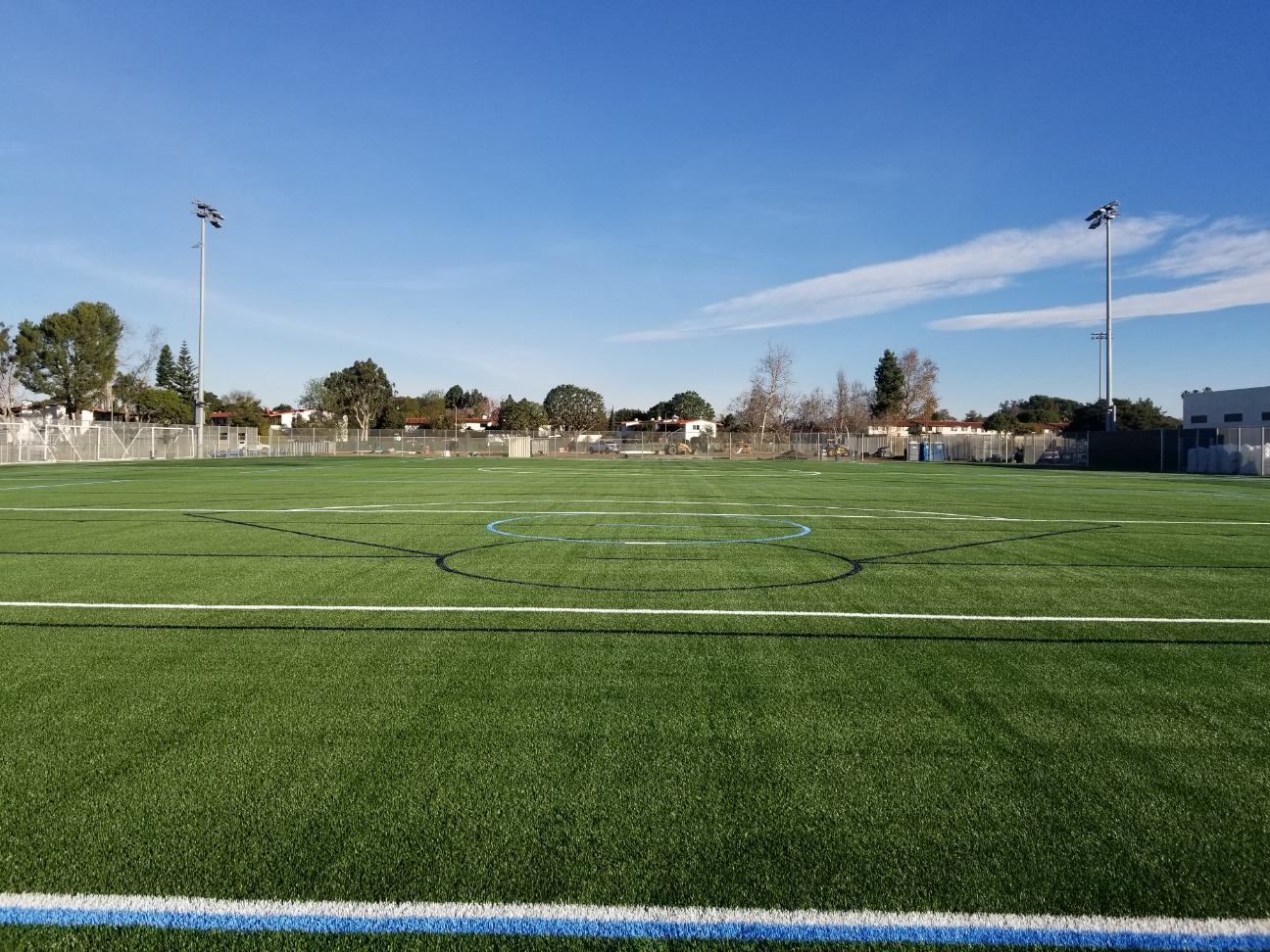 Lacrosse and Soccer Turf