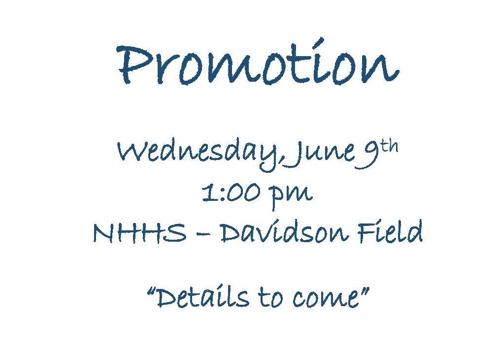 Promotion date and time