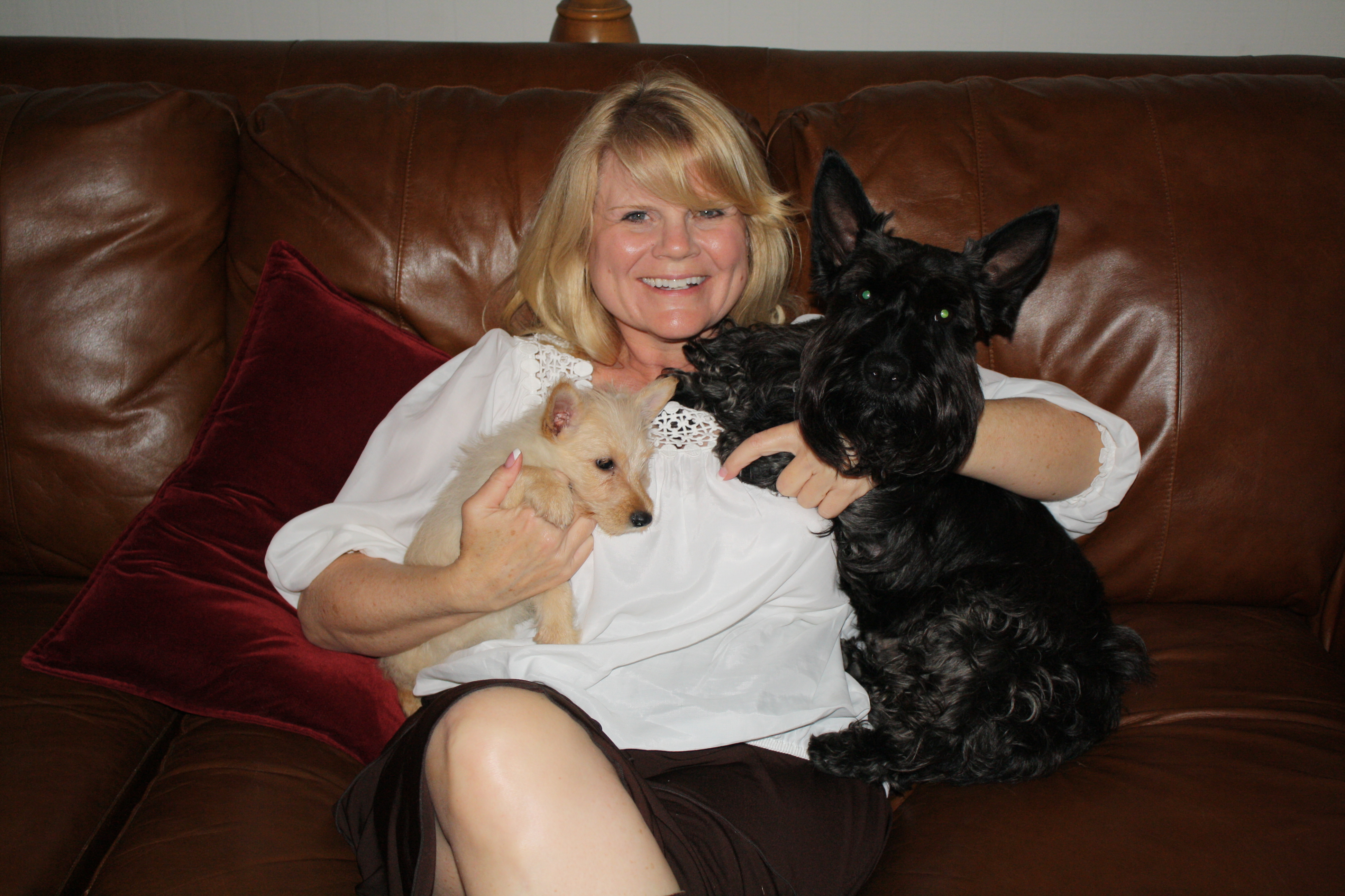 My Dogs O'Toole and Isabel