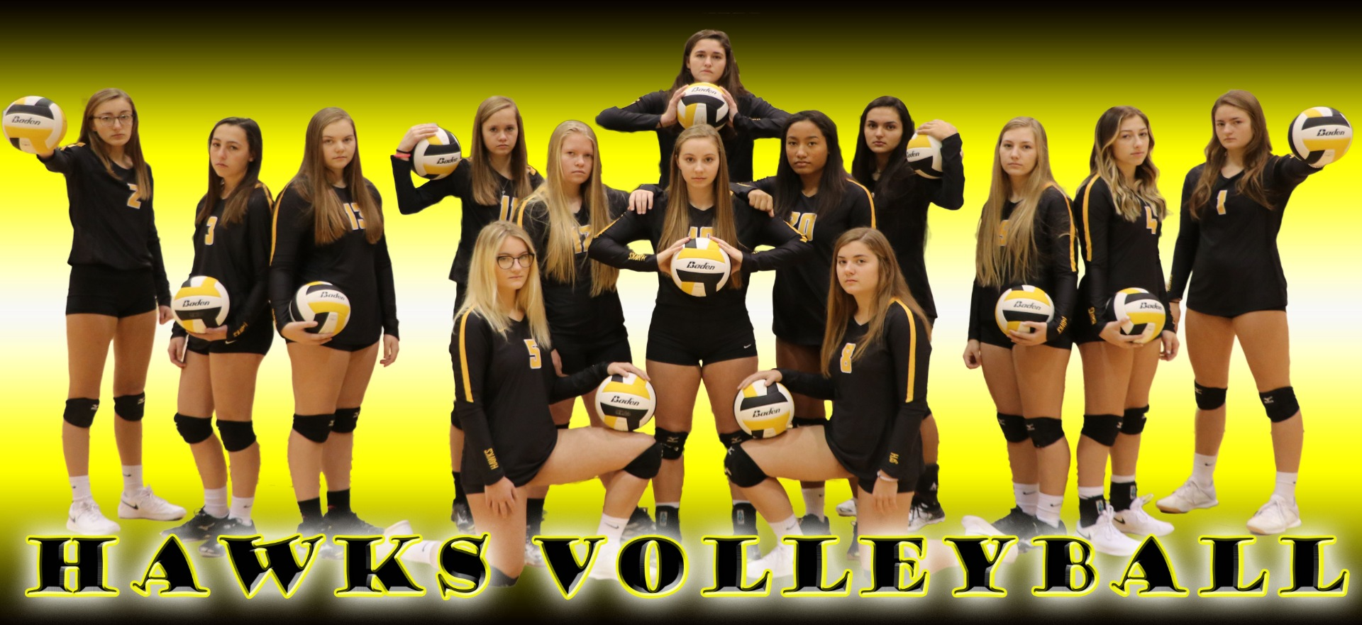 2018-2019 Volleyball Team