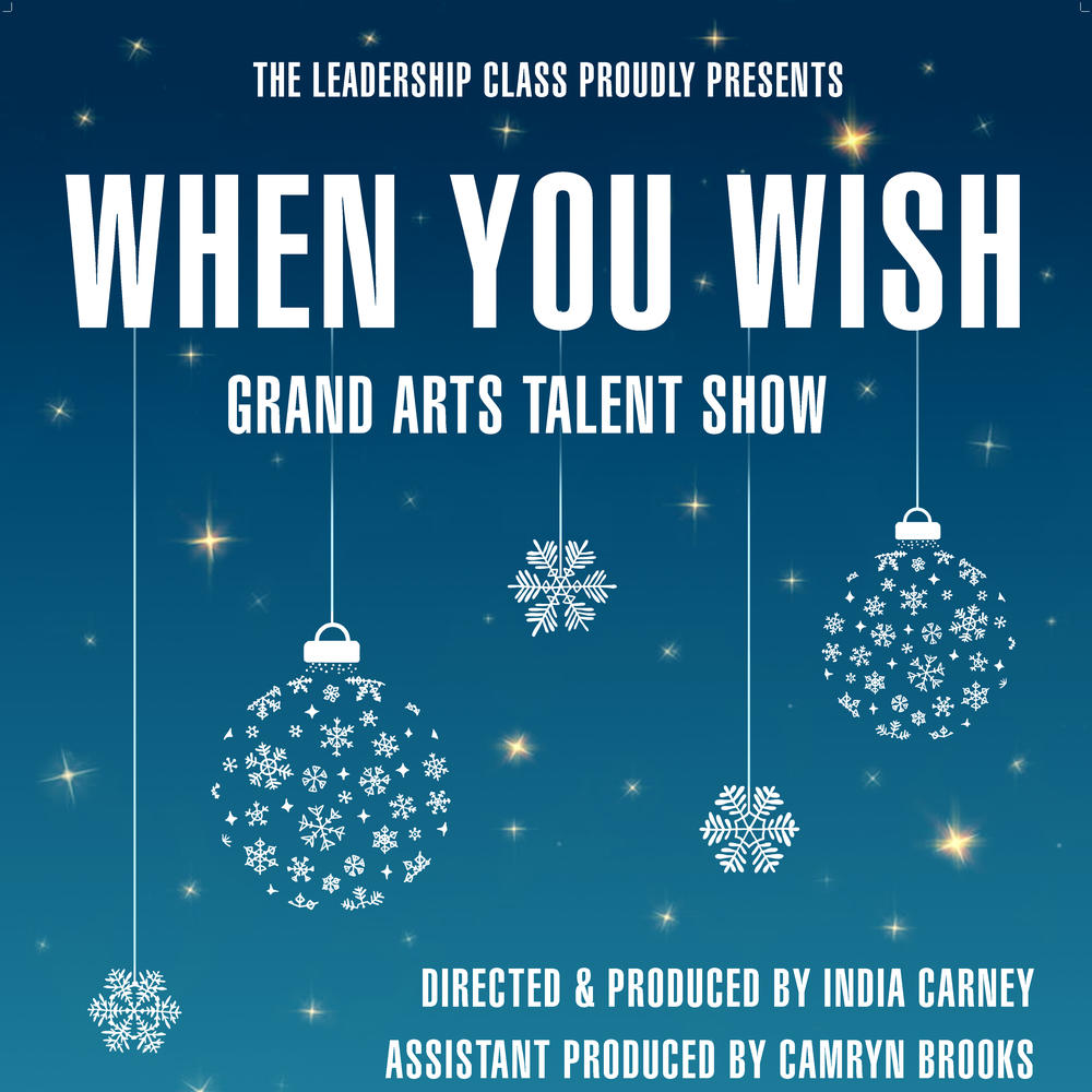 When you wish grand arts talent show