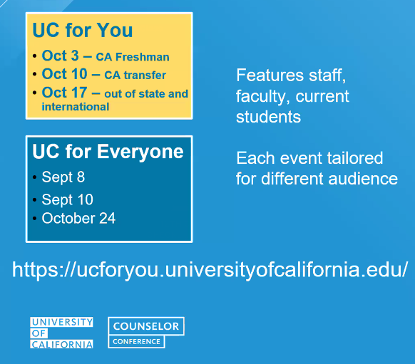UC Events.