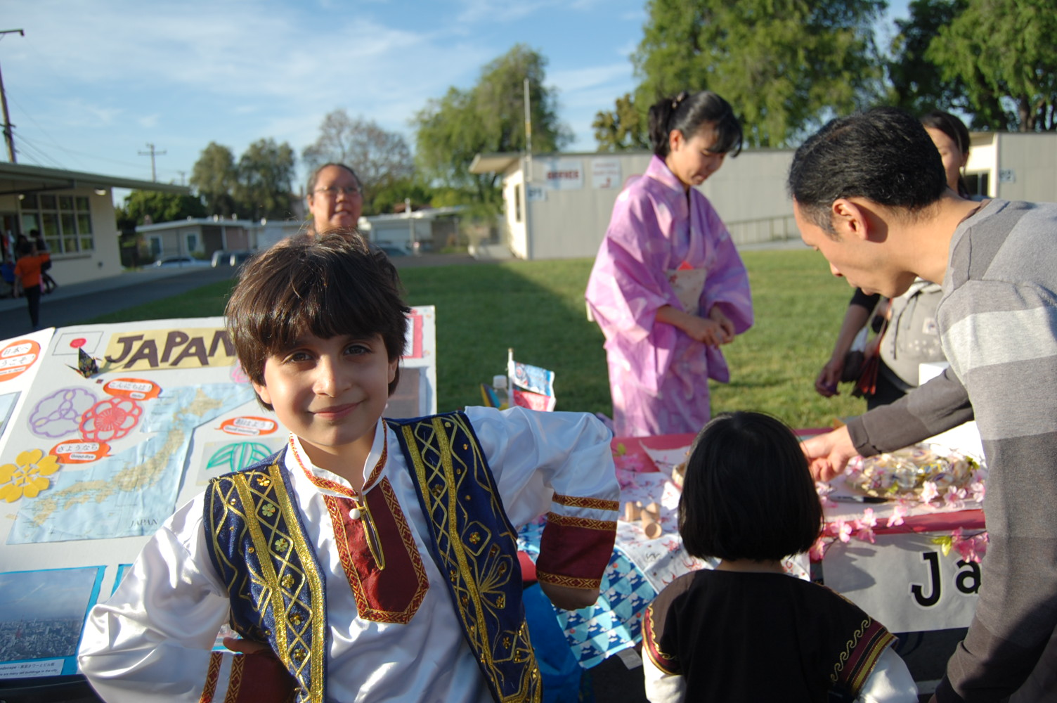 Multicultural Night 2017 student