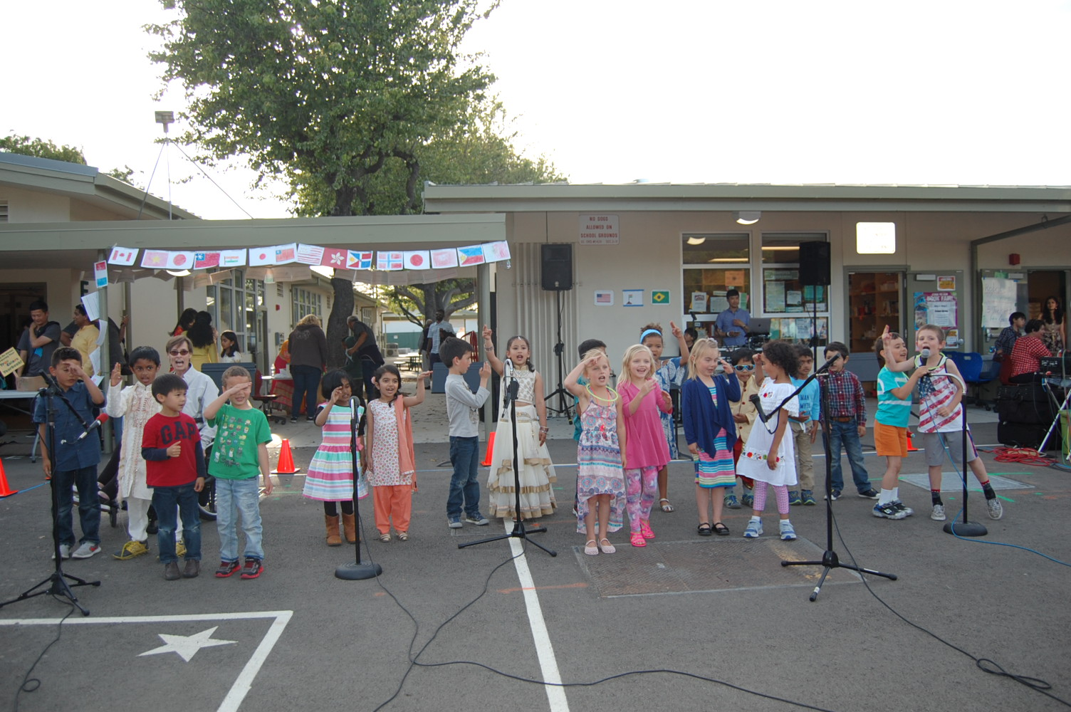 Multicultural Night 2017 performance