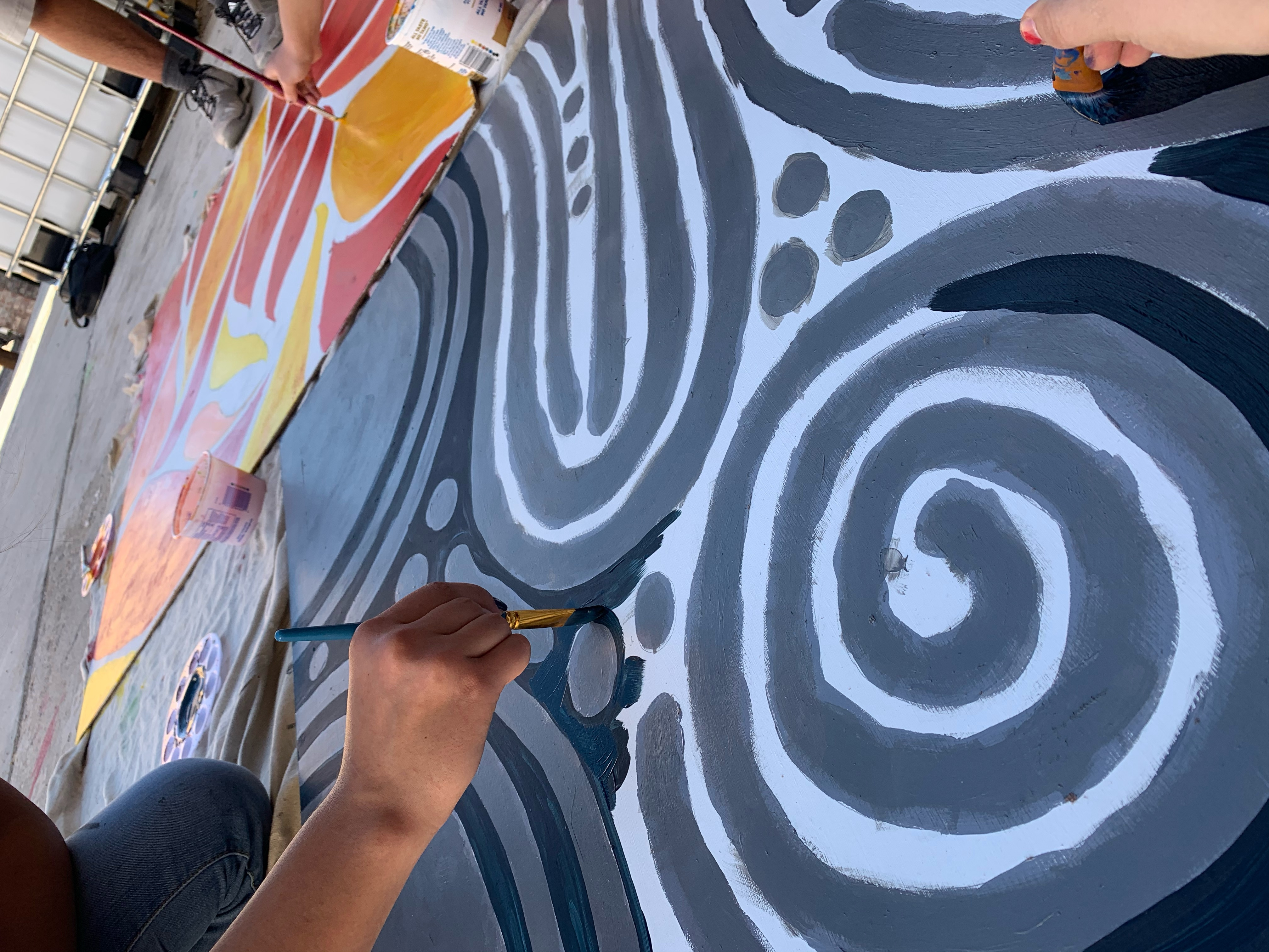 Behind the Scenes: Four Elements Mural