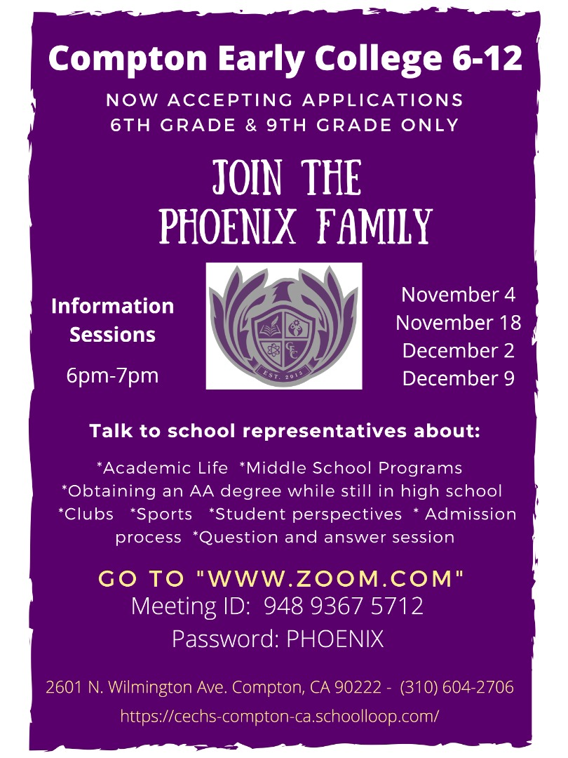 2021-22 6th and 9th grade information sessions
