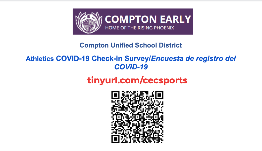 Athletic COVID Check In Survey