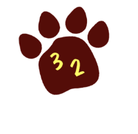 Cougar paw icon
