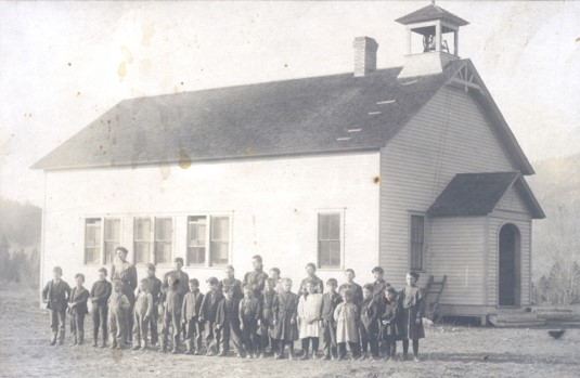 Early Clinton School ca: 1890's