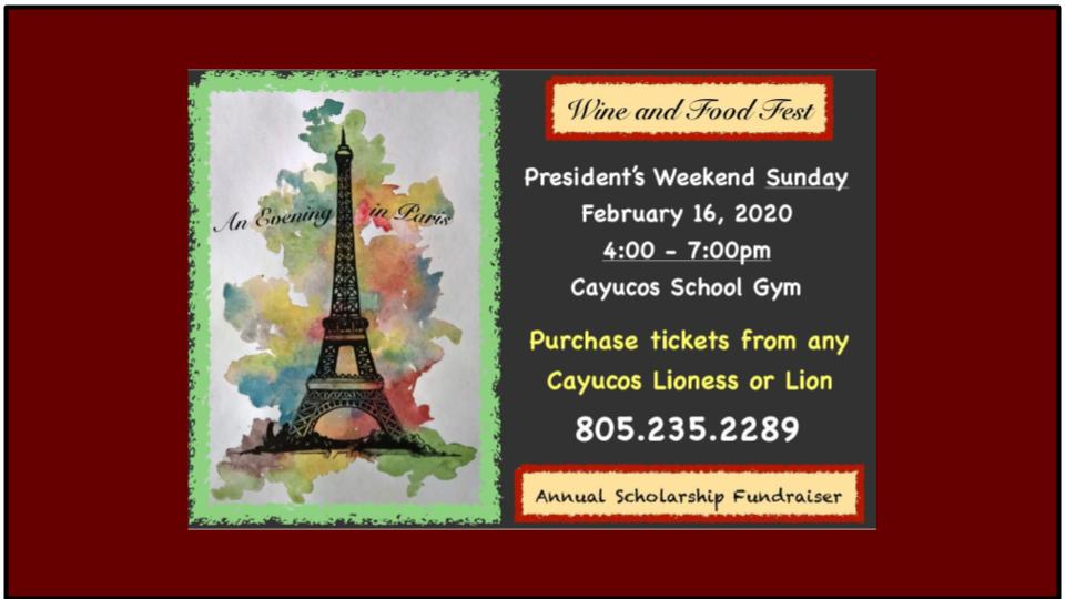 Wine and Food Fest 2020