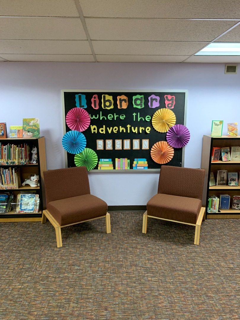 Library - Where the Adventure Begins