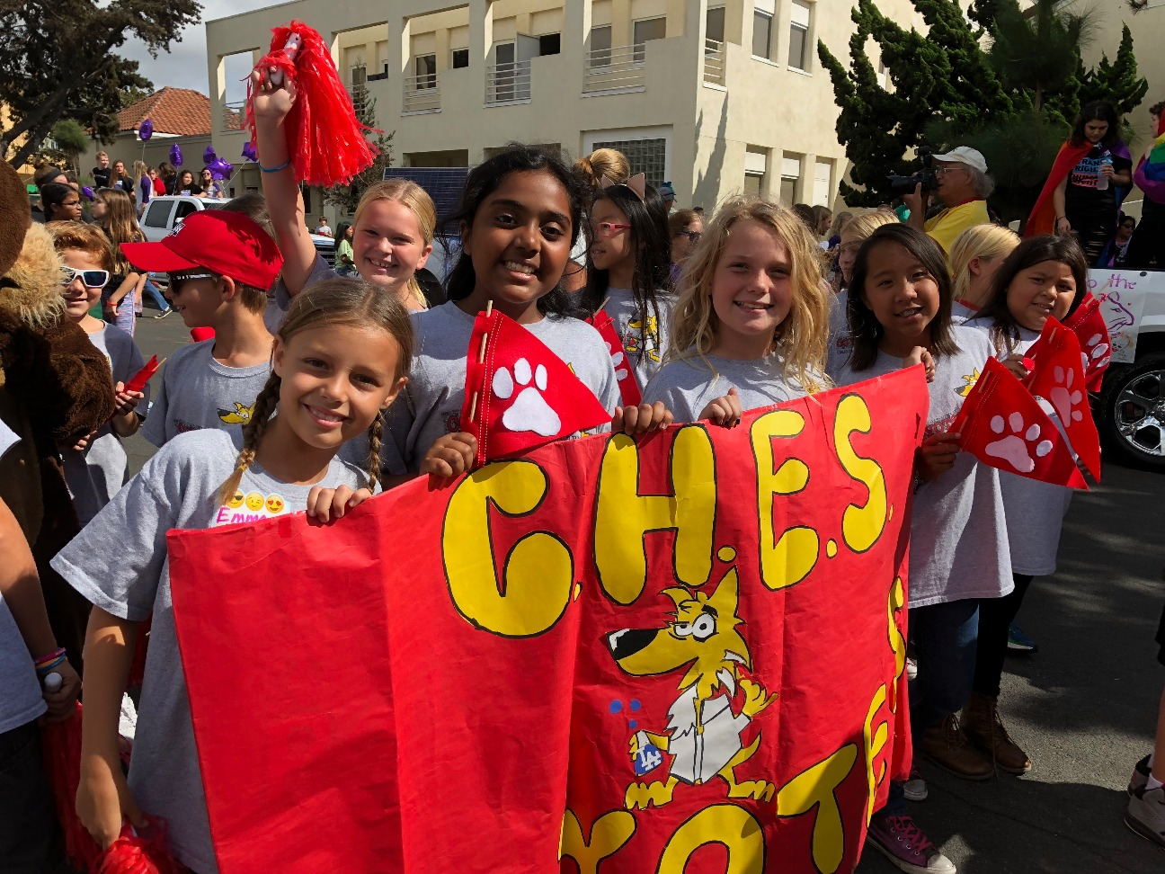 CHES students