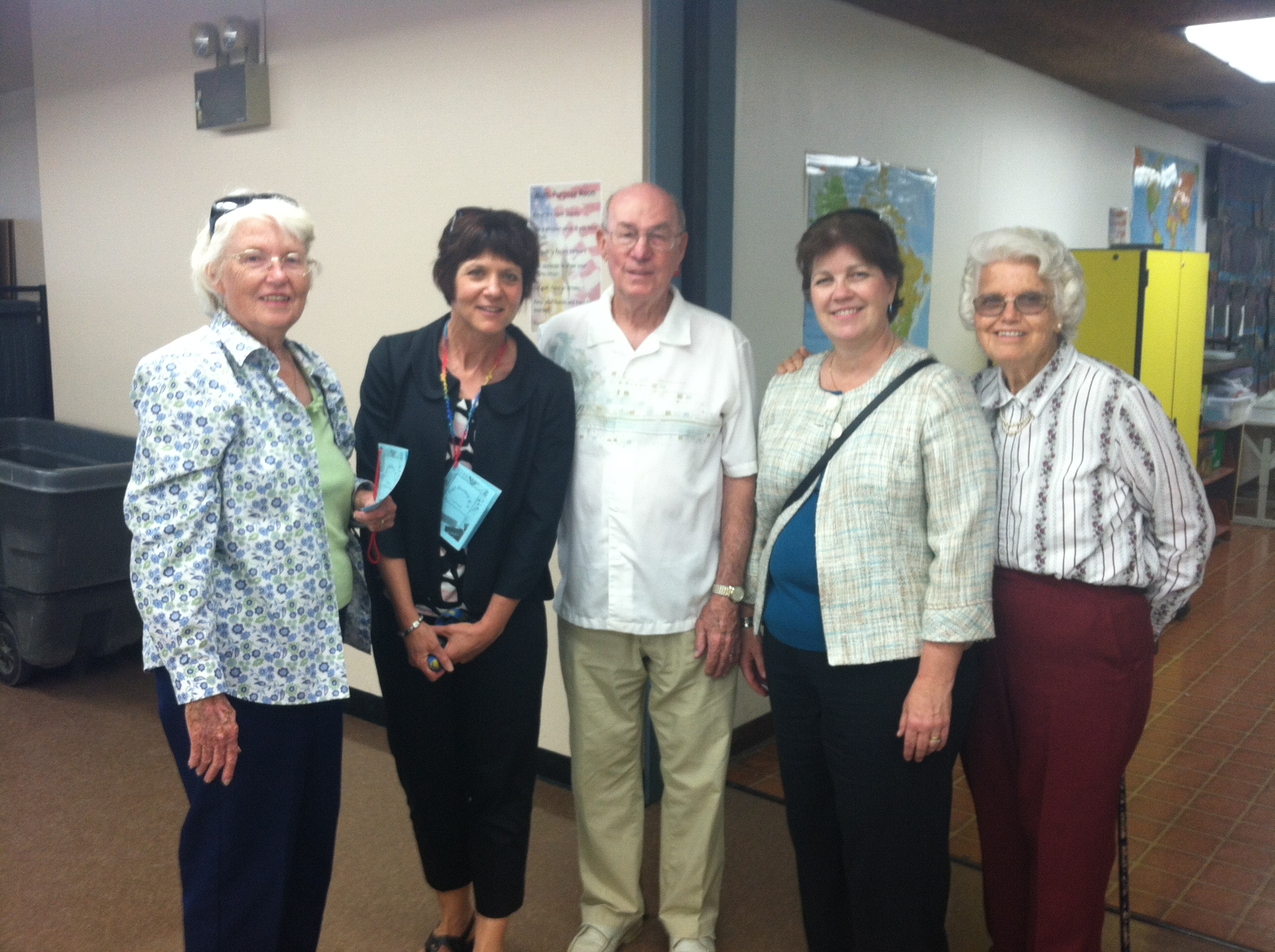 Carl Hankey's Family at Open House