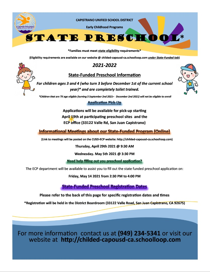 (Click on the image for more information on state-funded enrollment)