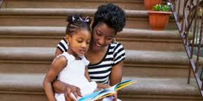Mother and Child Reading