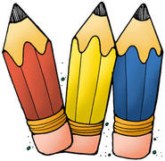 Colorful Clip art pencils