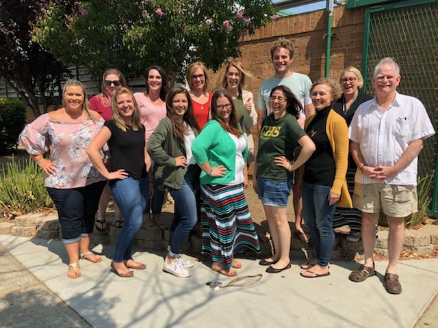 The 2018-2019 English Department