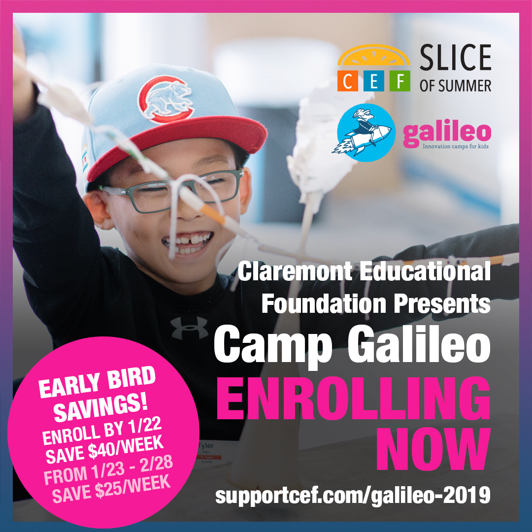 Camp Galileo -- Now Enrolling