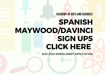 DaVinci enrollment Graphic Spanish