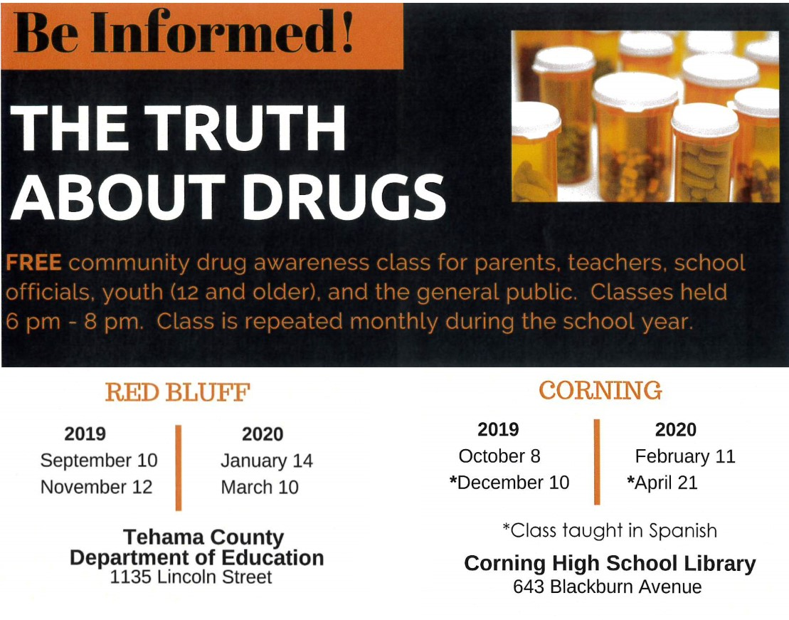 Drug Awareness Classes