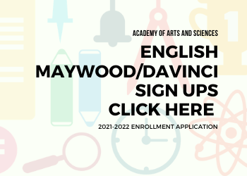 DaVinci enrollment Graphic English