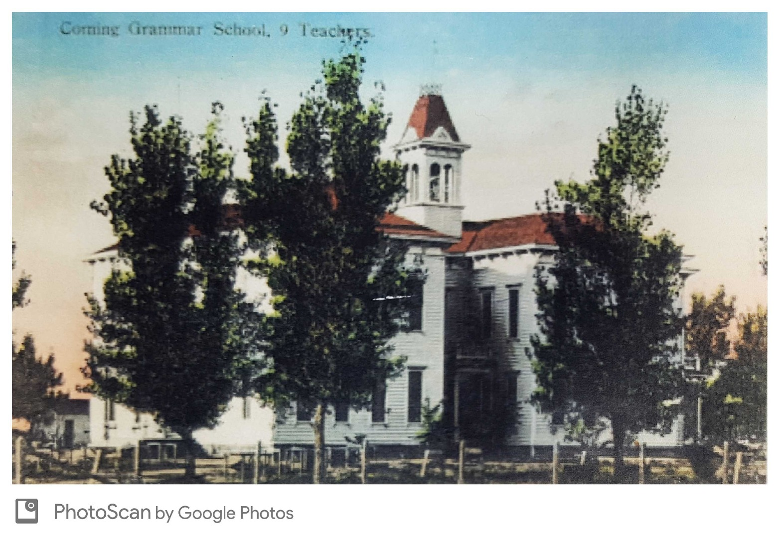 Corning Grammar School, 1888
