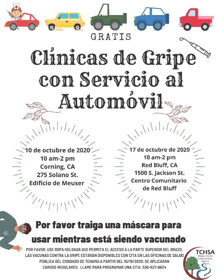 TCHSA Flu Clinic Spanish