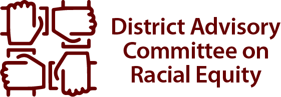 District Advisory Committee on Racial Equality logo
