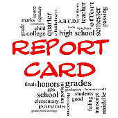 report card artwork