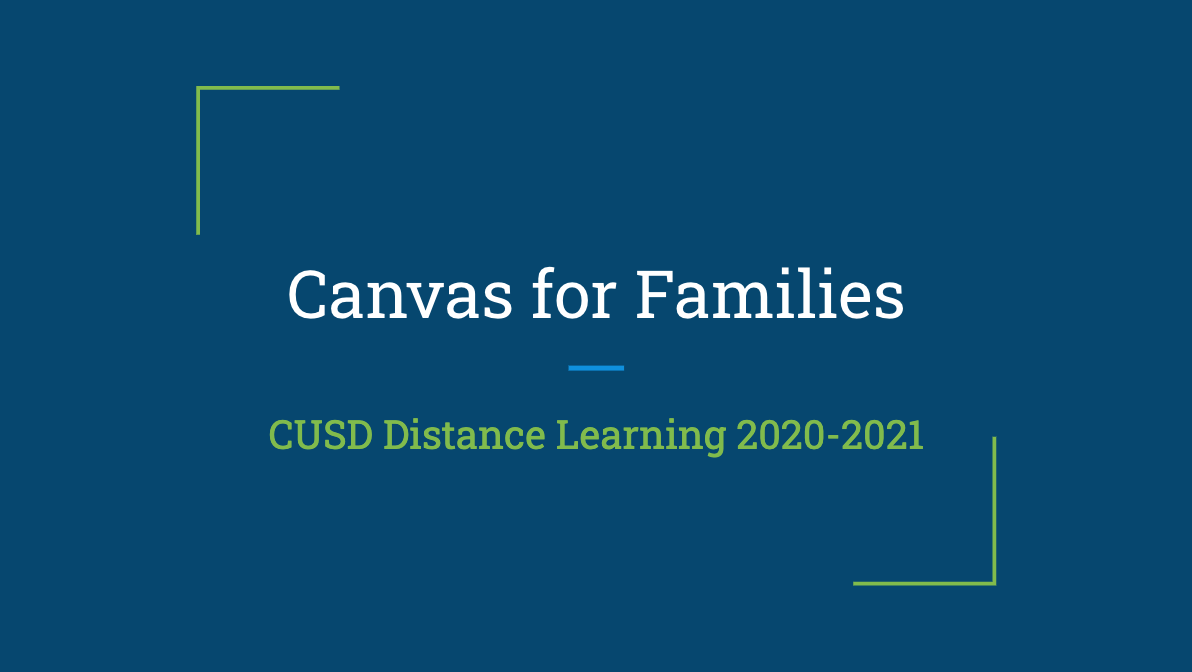 Canvas for Families