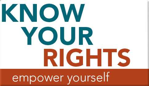 Know Your Rights Graphics