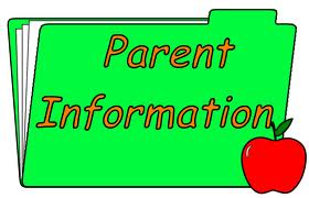 File folder entitled Parent Information