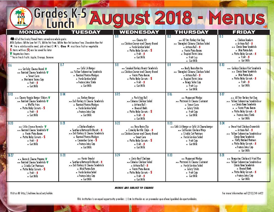 2018 August Lunch Menu Grades K-5.jpg