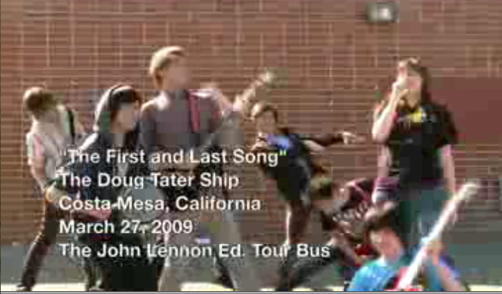 ACE students participate in the creating of a cool Music Video using the John Lennon Bus. Check out the link to the video in my locker in the lower right section of this page.